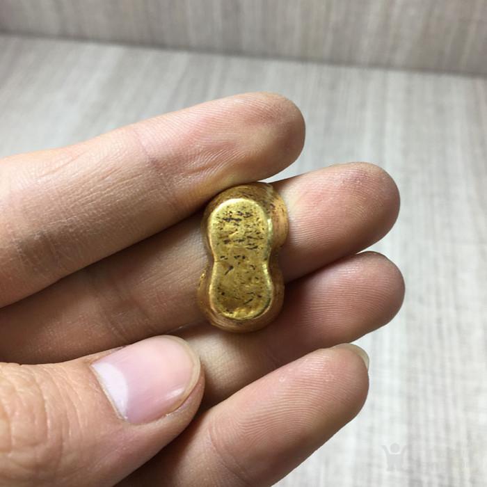 清晚民国吉林昌盛号赤金纯金金器钱币收藏图5
