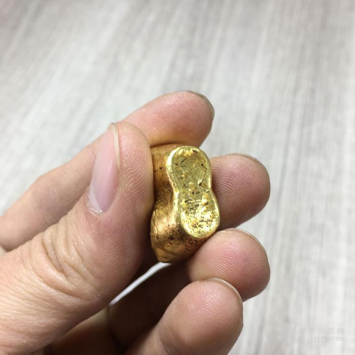 清晚民国吉林昌盛号赤金纯金金器钱币收藏图8