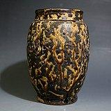 宋.吉州窑黑釉罐