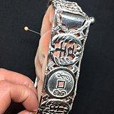 清代文房纯银针线用盒
