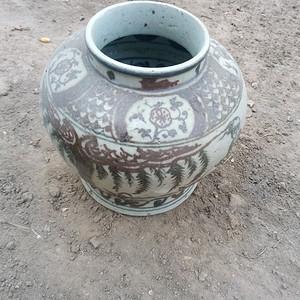 古玩收藏元青花瓷
