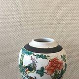 粉彩凤凰纹罐