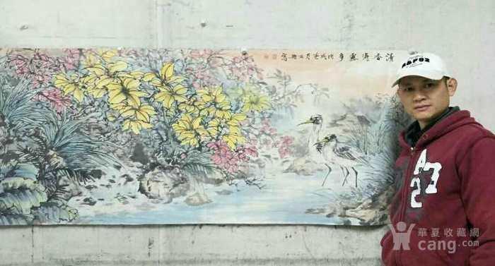 石册  183 小六尺花鸟图6