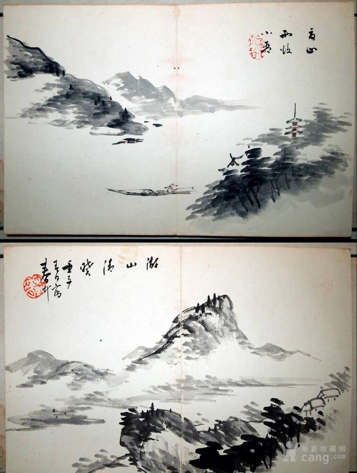 民国初年  鸳鸯蝴蝶派 重要人物 何海鸣等书画册图8