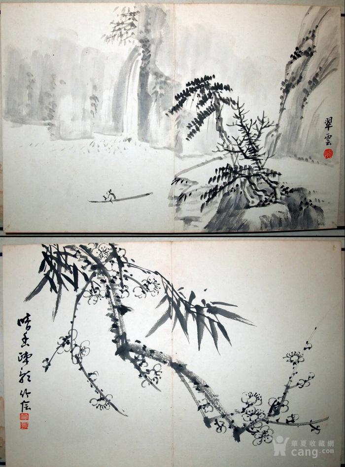 民国初年  鸳鸯蝴蝶派 重要人物 何海鸣等书画册图9