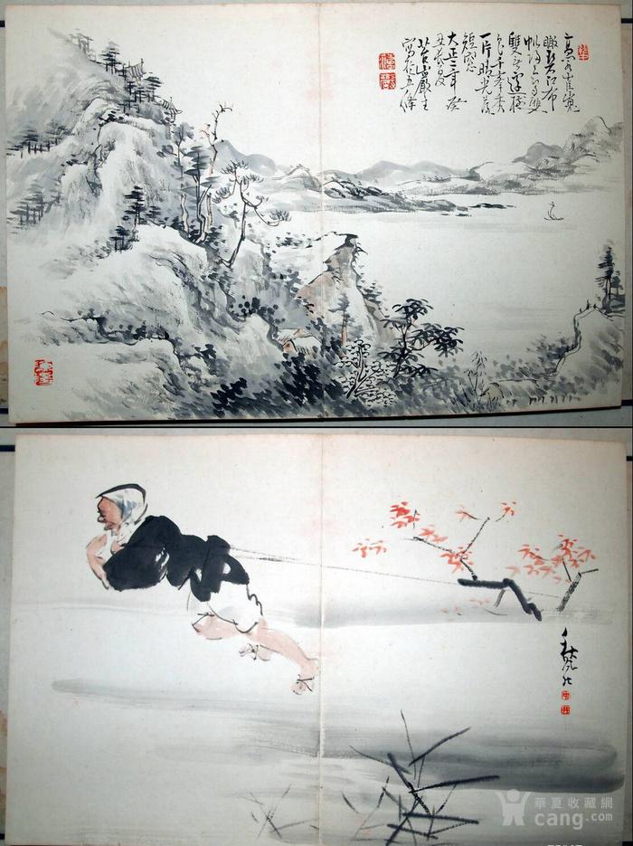 民国初年  鸳鸯蝴蝶派 重要人物 何海鸣等书画册图10