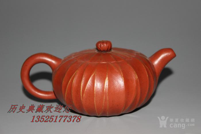 胡敖君款老紫砂茶壶 名家全手工制作朱砂菱形壶 小品茶壶功夫