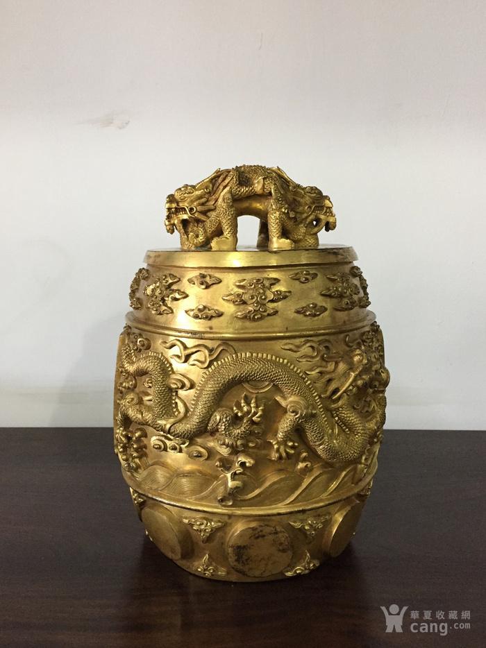 清乾隆八年铜鎏金编钟图4