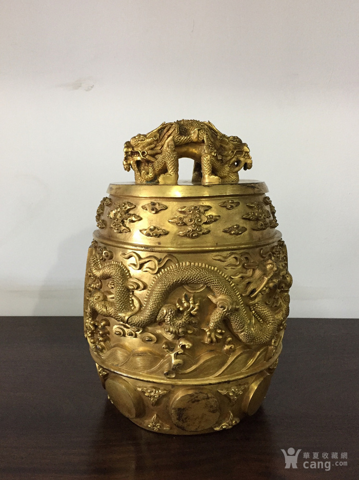 清乾隆八年铜鎏金编钟图5
