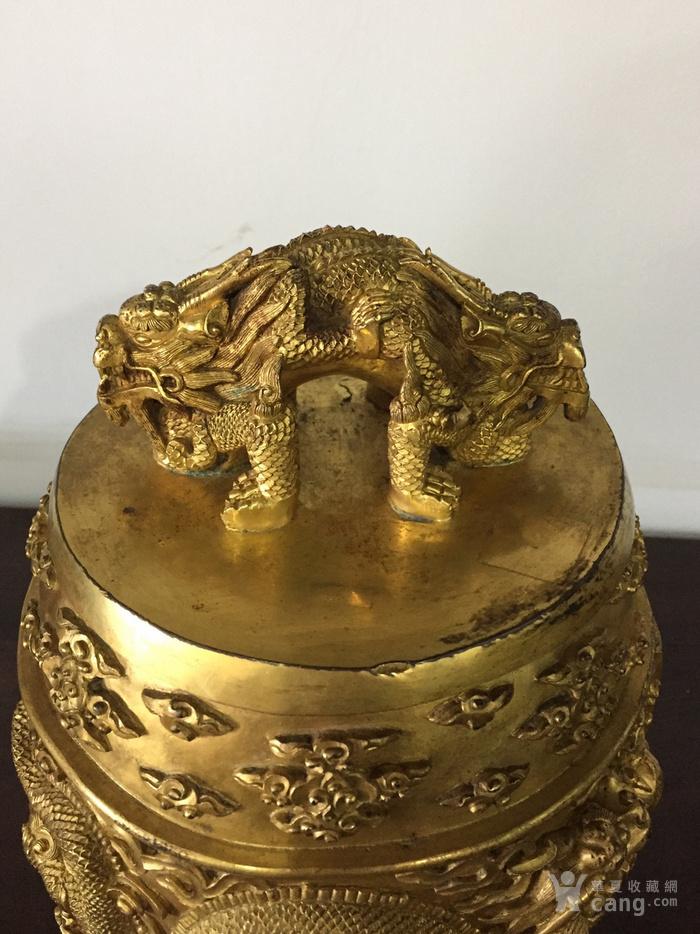 清乾隆八年铜鎏金编钟图6