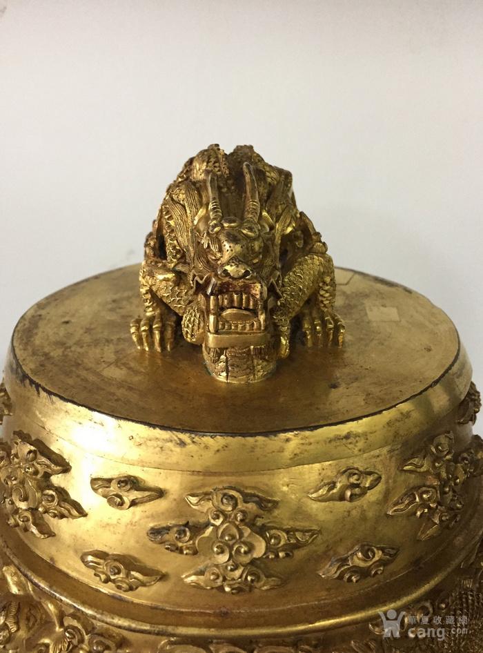 清乾隆八年铜鎏金编钟图7