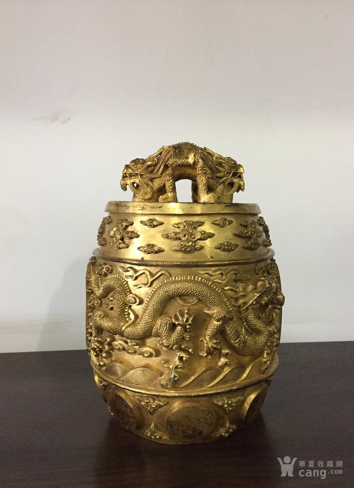 清乾隆八年铜鎏金编钟图8