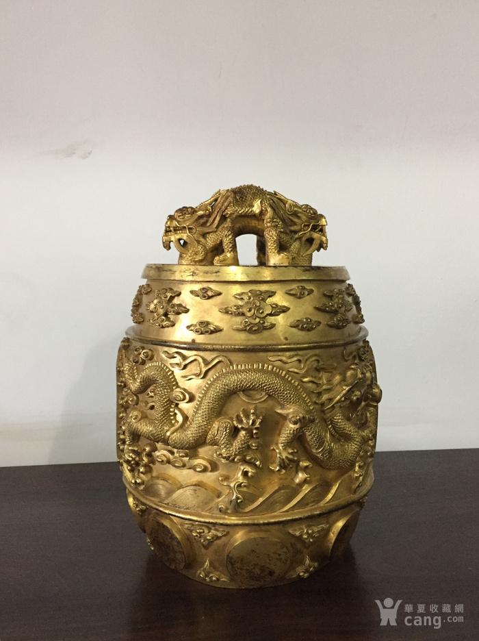 清乾隆八年铜鎏金编钟图9