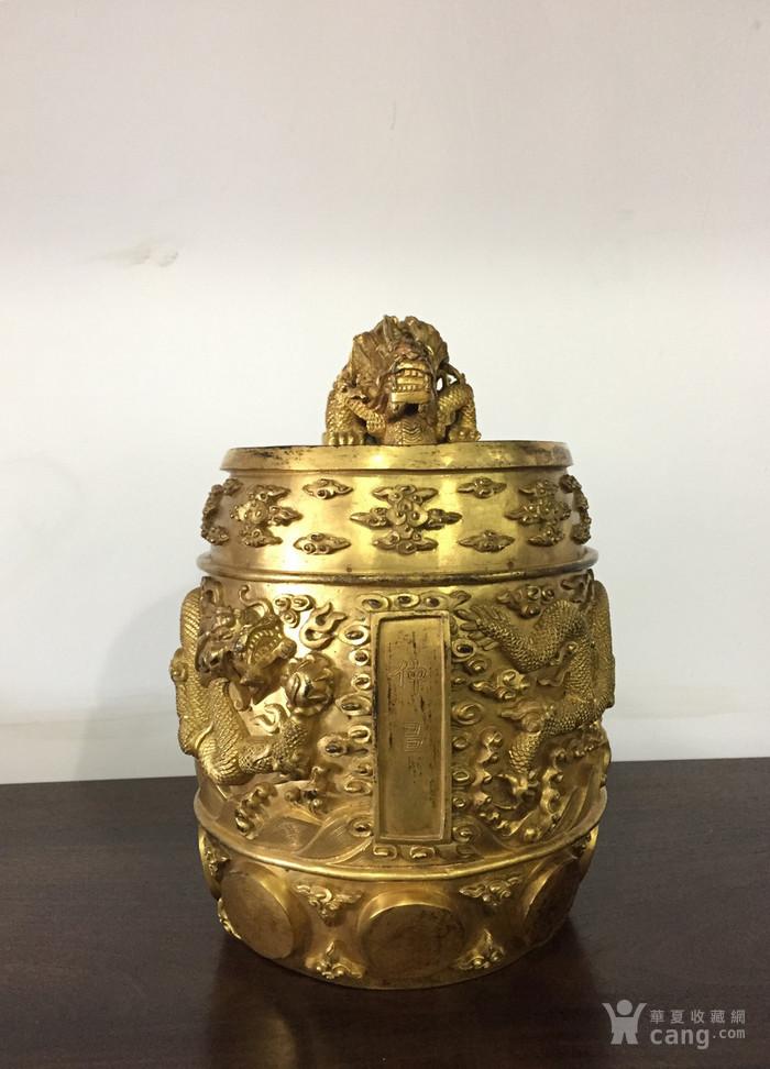 清乾隆八年铜鎏金编钟图10