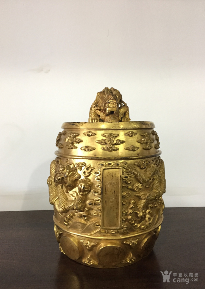 清乾隆八年铜鎏金编钟图11