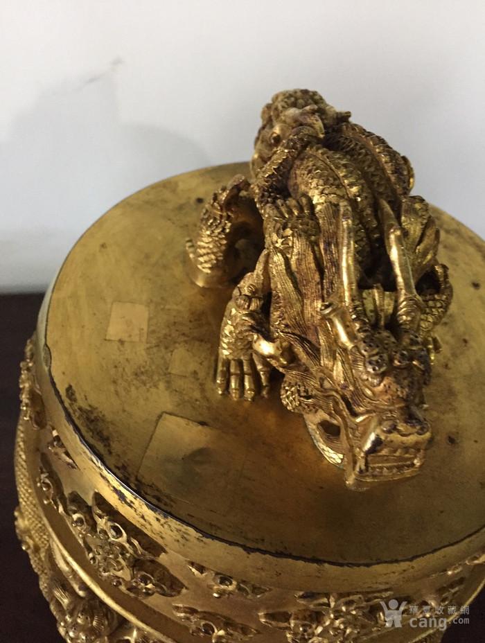 清乾隆八年铜鎏金编钟图12