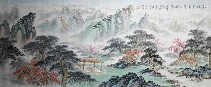 江苏美协戈加军  183 小六尺山水图2