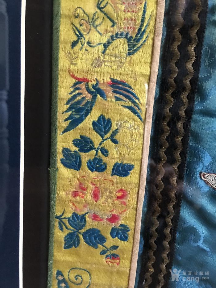 印第安河回流 清代老打籽绣,织綿巨大绣品图5