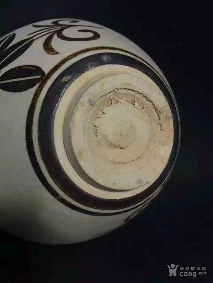 *磁州窑釉下彩绘仙鹤牡丹纹碗
