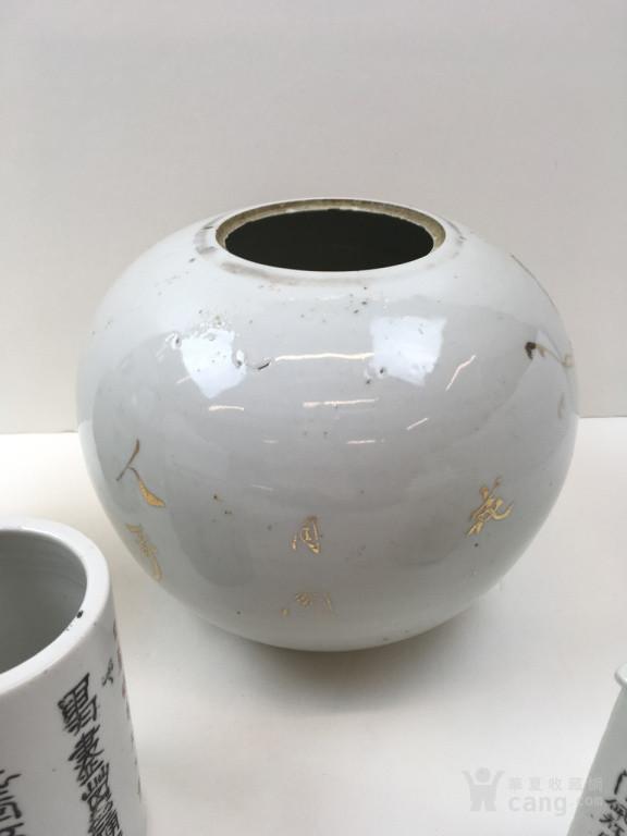 6件手绘中国瓷器
