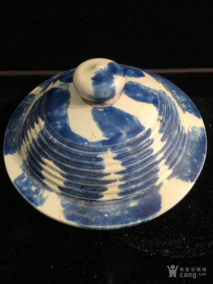 三彩蓝釉三足炉图9