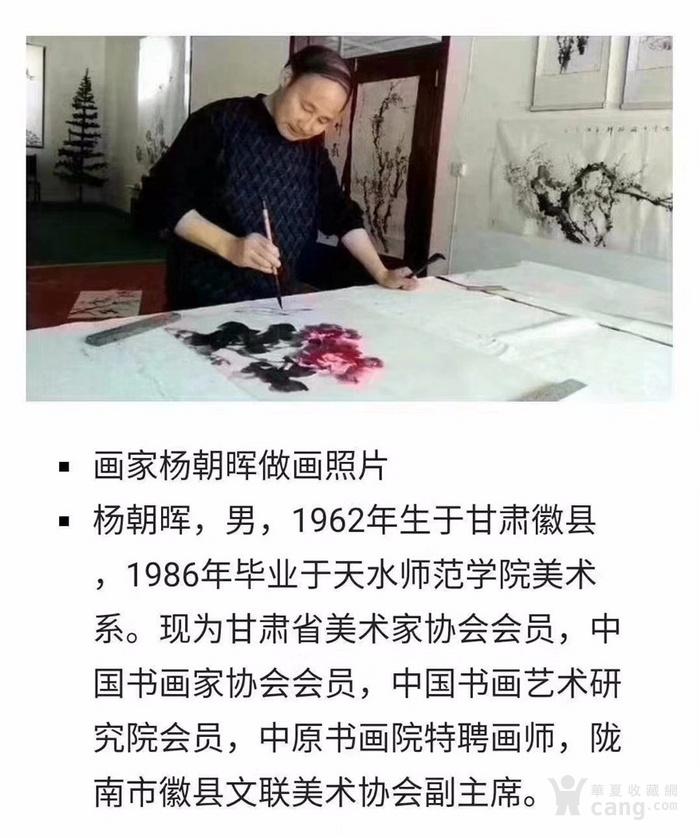 甘肃美协杨朝晖  183 花鸟四条屏图8
