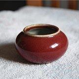 红釉漂亮水盂