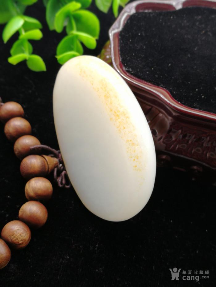 新品和田玉羊脂白玉籽料挂件封侯拜相苏工老坑老料图5