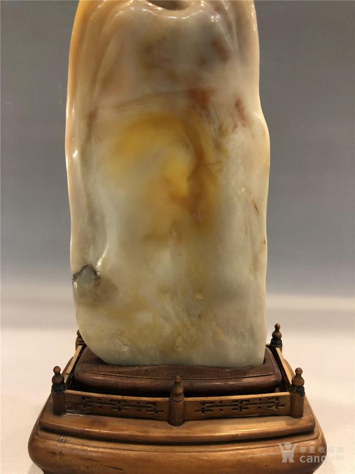 清代寿山石观音菩萨像图10