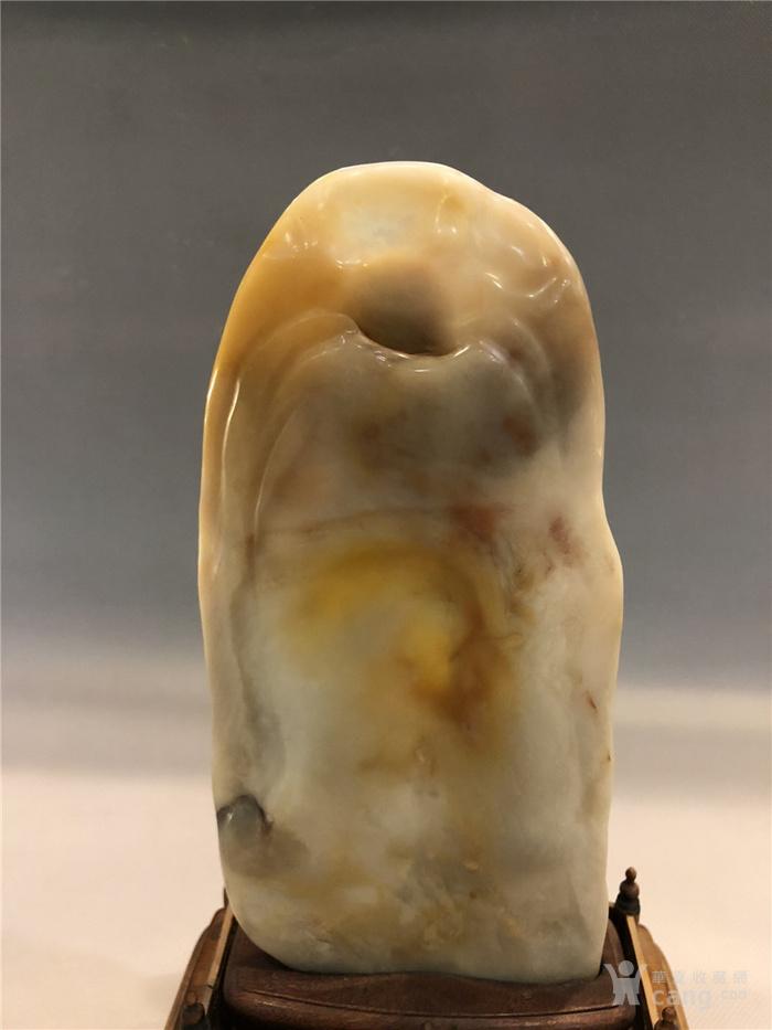 清代寿山石观音菩萨像图9
