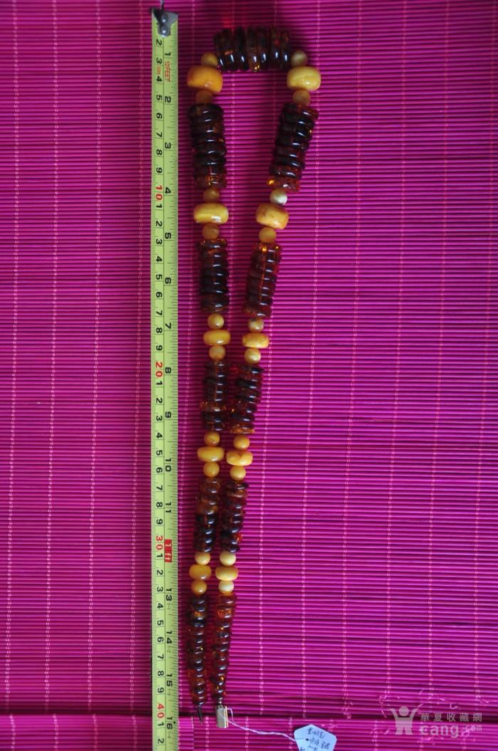 天然老蜜蜡 琥珀项链夫妻对  镇店之宝图4