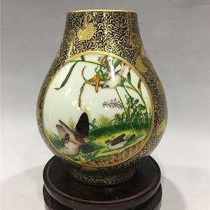 雍正珐琅彩精品瓷器