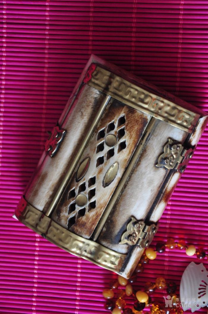 高级材料长方形首饰盒一对图5