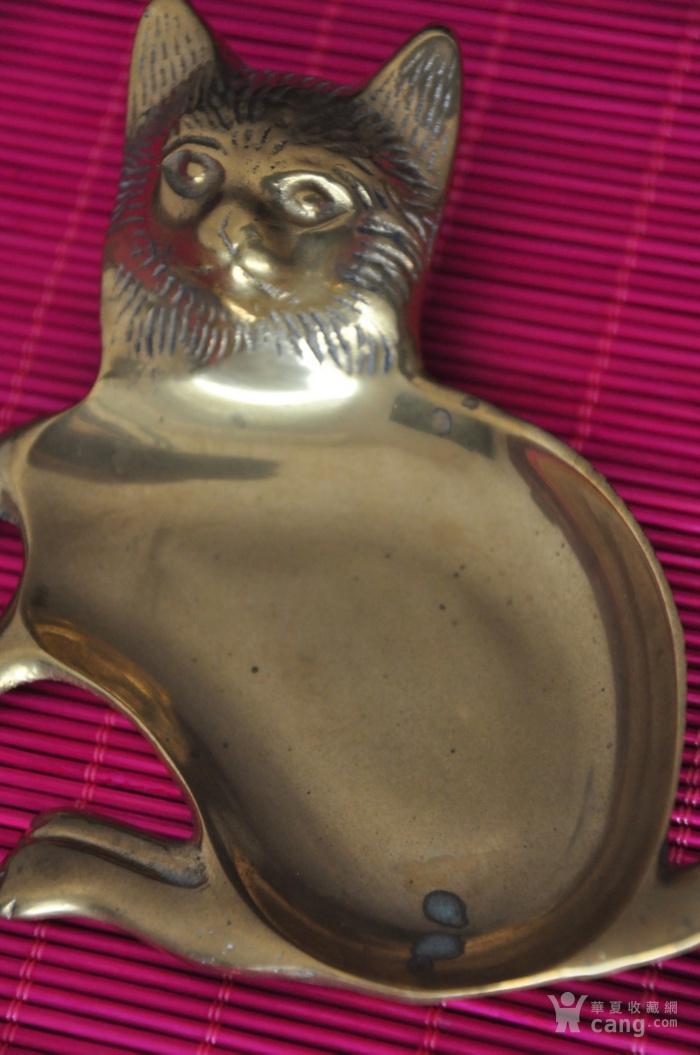 黄铜猫形多用器图2