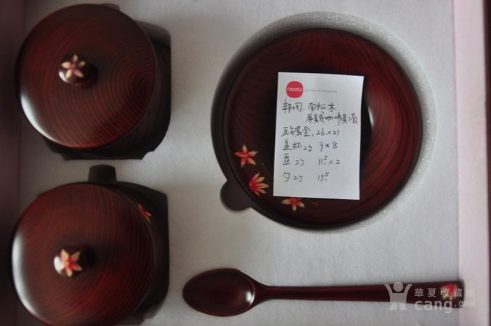 南松牌木质碟 罐 勺一套图4
