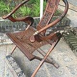 花梨木折叠交椅