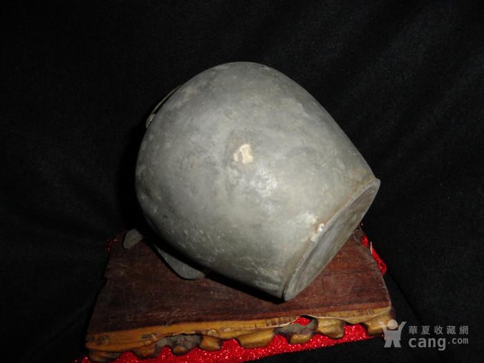 清传世双精铜提把.老锡茶壶。图11