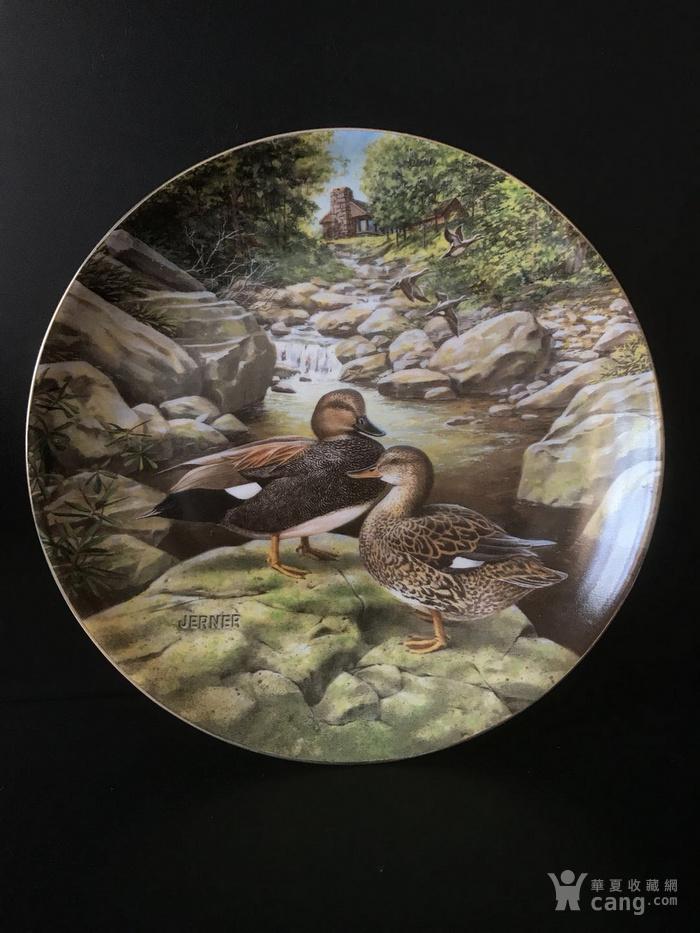 美国艺术瓷盘图3