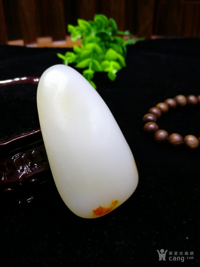 新品和田玉羊脂玉白玉籽料随形原石老坑老料图4