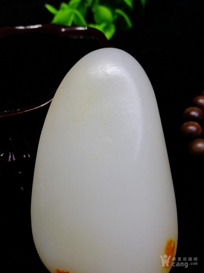 新品和田玉羊脂玉白玉籽料随形原石老坑老料图6