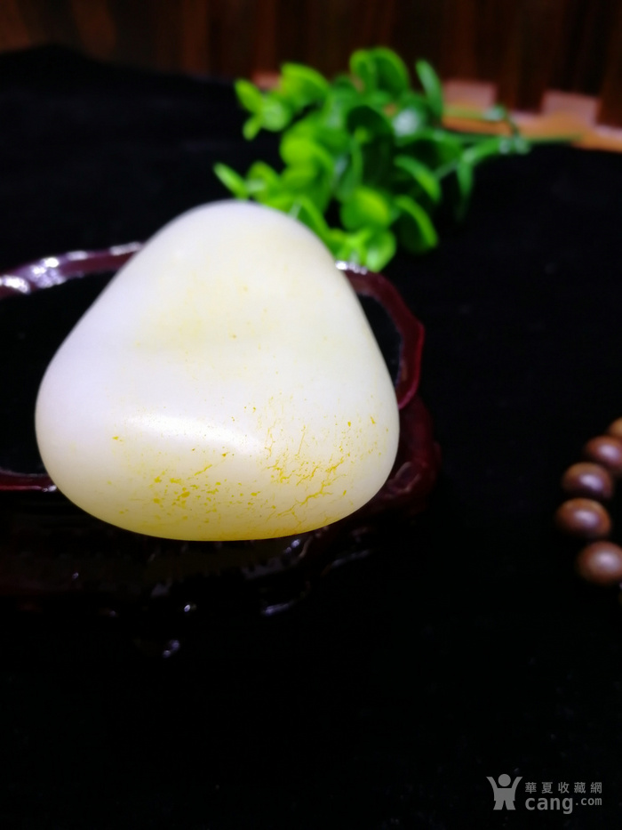 新品和田玉羊脂玉白玉籽料随形原石老坑老料图8
