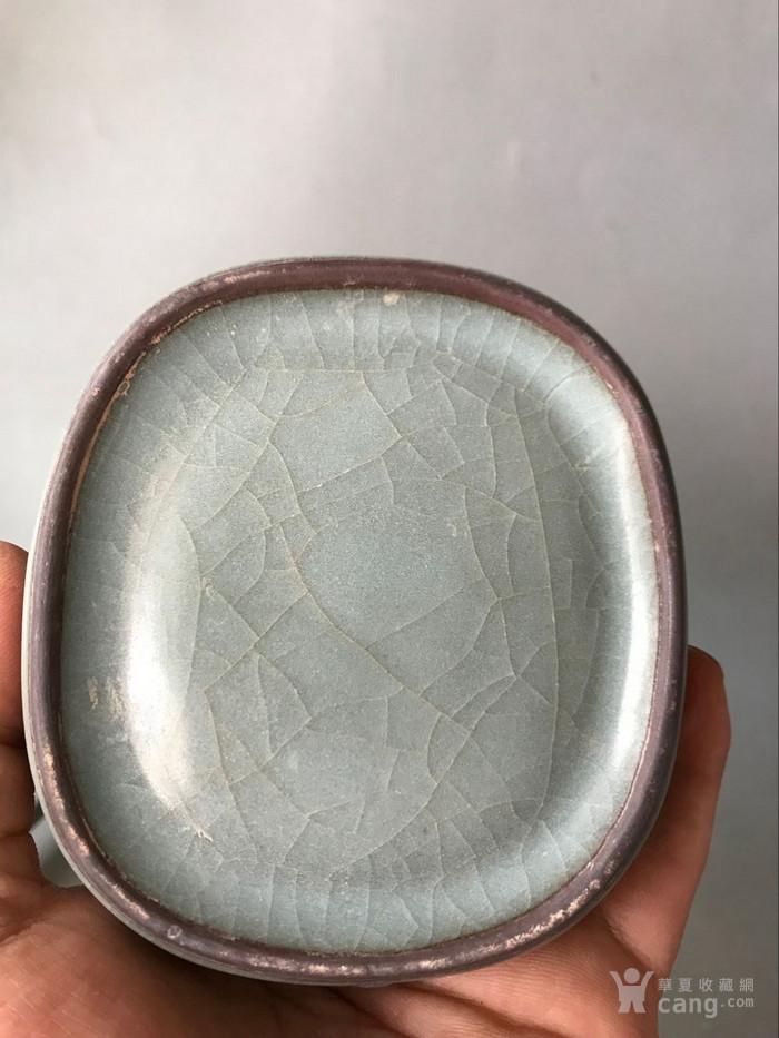 开片笔洗老窑瓷器图6