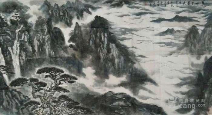 《黄山云海天下奇观》图1