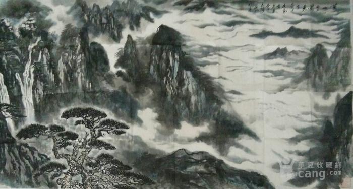 《黄山云海天下奇观》图2