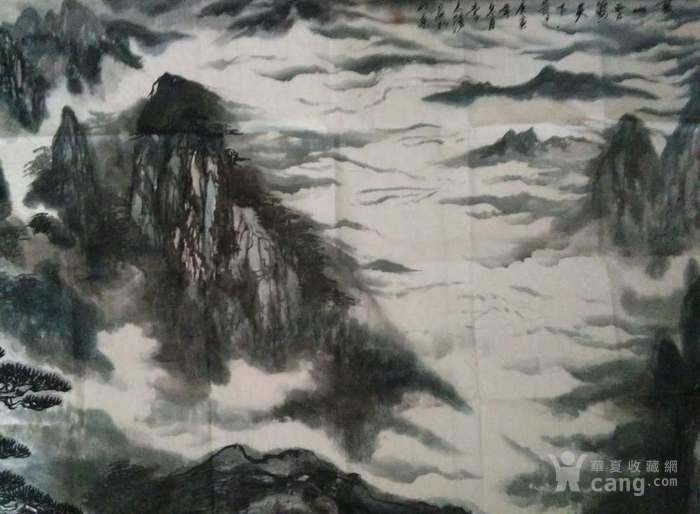 《黄山云海天下奇观》图5