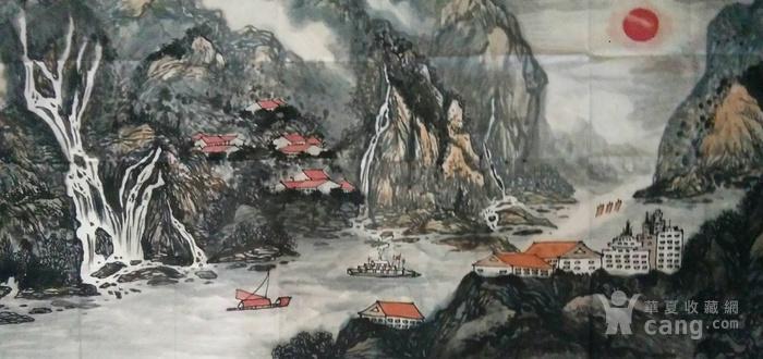 《嘉陵云起图》图1