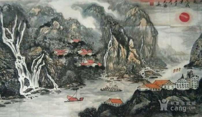 《嘉陵云起图》图3