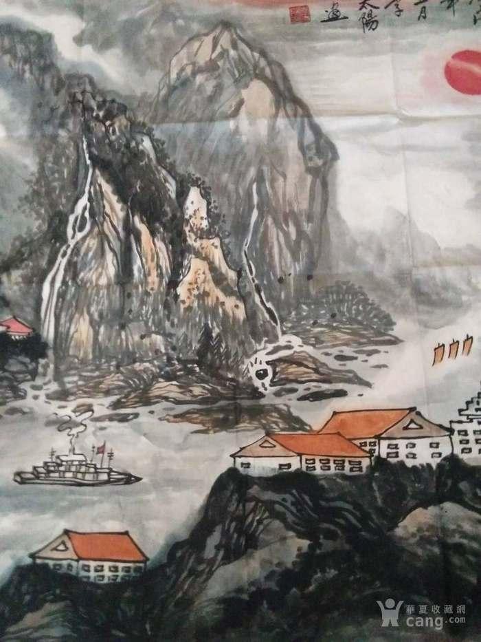 《嘉陵云起图》图5