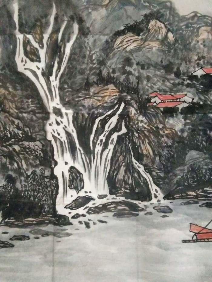 《嘉陵云起图》图7
