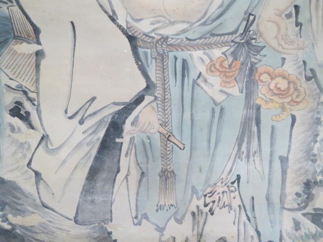 吴伟人物中堂图6